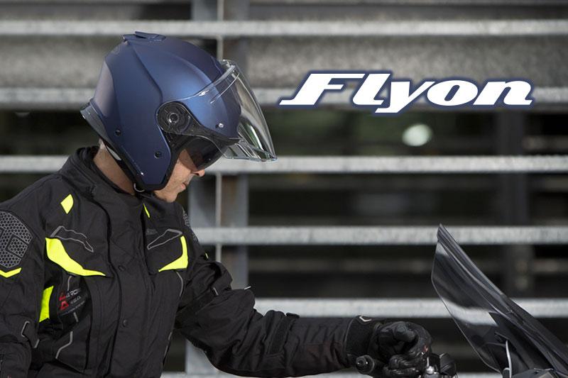 Caberg Flyon Jet testato da Bennetts