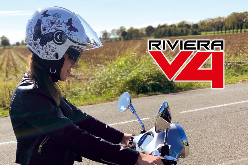 Riviera V4, il casco demi jet pratico e dalle linee innovative