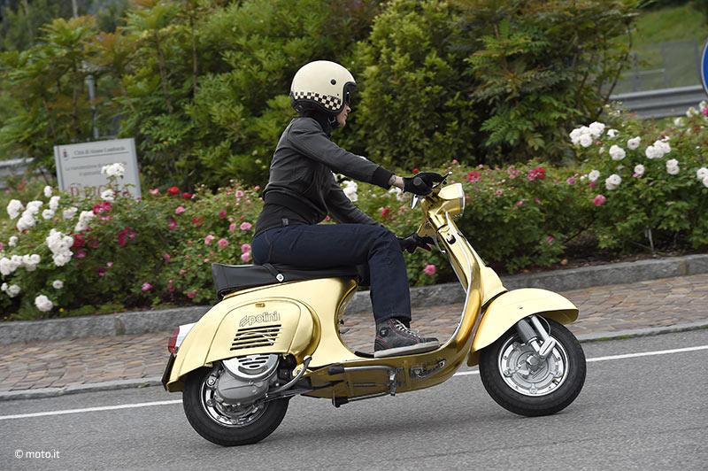 Scooter e casco Caberg: la città non ha più segreti