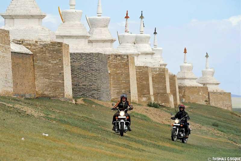 Alla conquista della Mongolia con il Caberg Riviera!