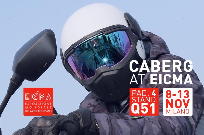 Caberg vi aspetta a Eicma dall'8 al 13 novembre 2016!