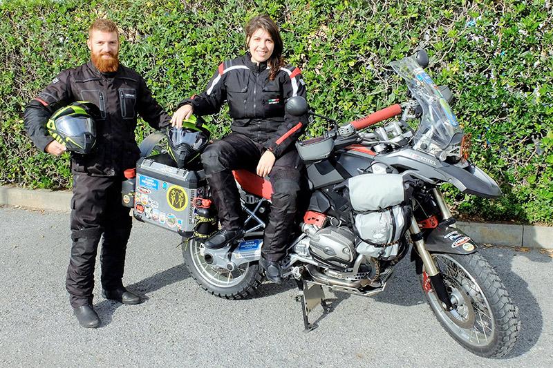 Michele e Valentina alla scoperta del Sud America con il Caberg XTrace!